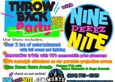 90's Nite Show Details