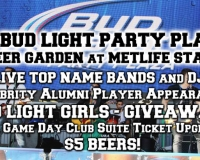 Bud Light Party Plaza at MetLife Stadium